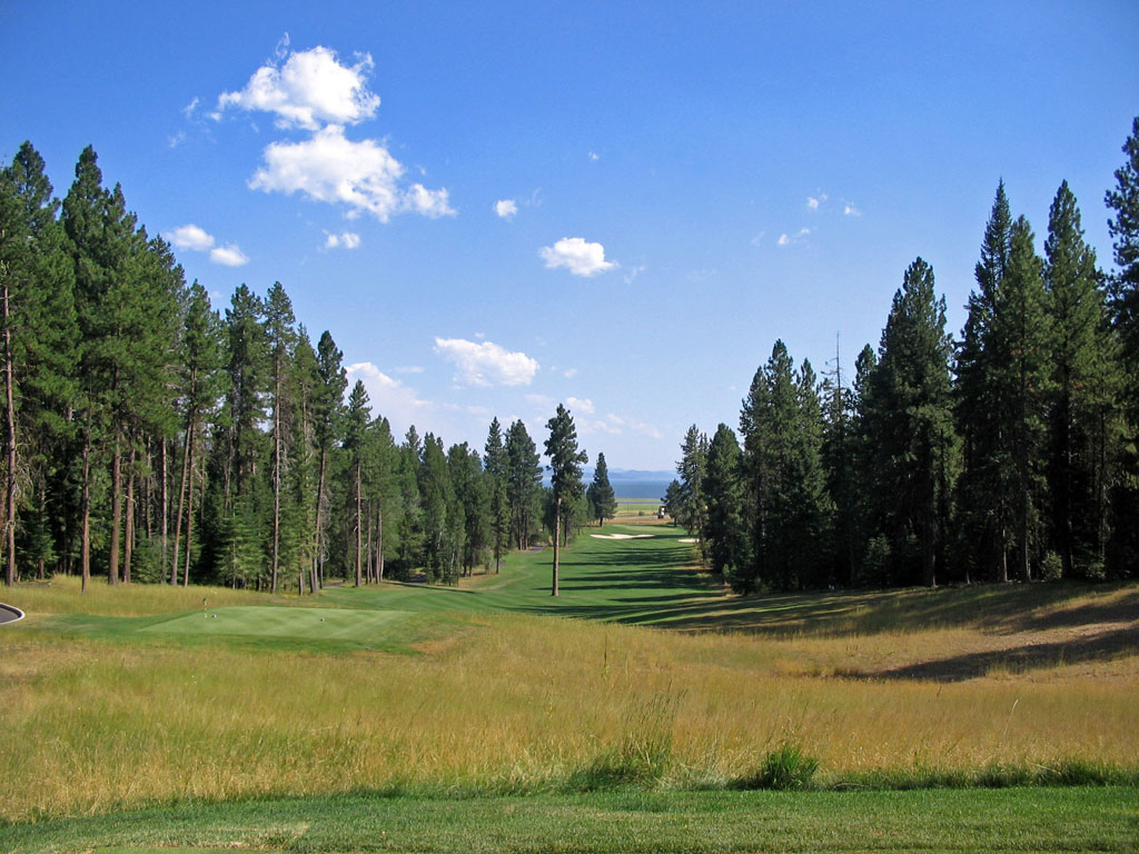 9th Hole at Osprey Meadows at Tamarack (568 Yard Par 5)
