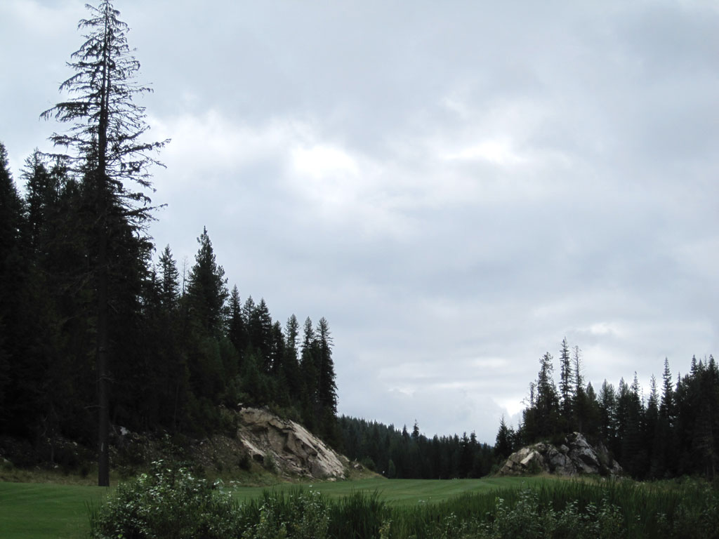 14th Hole at Priest Lake Golf Course Hole at Priest Lake (503 Yard Par 5)
