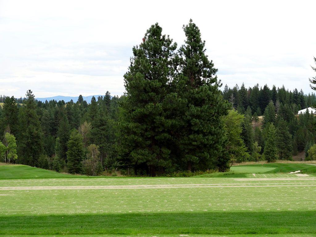 16th Hole at Rock Creek Golf Club Idaho (387/358 Yard Par 4)