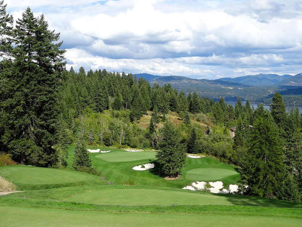 5th Hole at Rock Creek Golf Club Idaho (236/199 Yard Par 3)