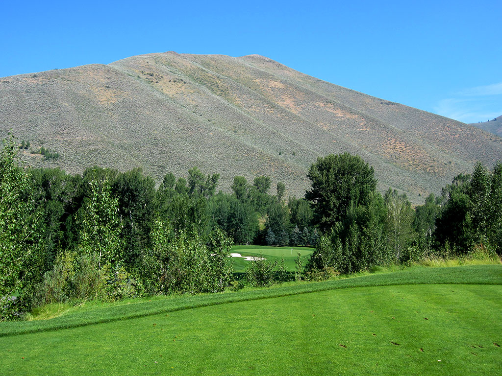 17th Hole at Sun Valley Resort (Trail Creek) (244 Yard Par 3)
