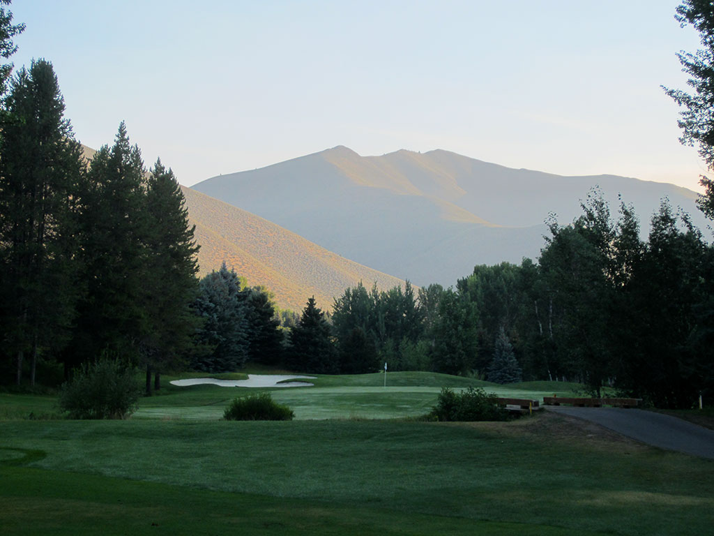 3rd Hole at Sun Valley Resort (Trail Creek) (446 Yard Par 4)