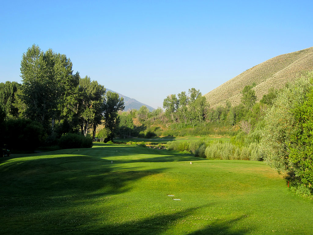 8th Hole at Sun Valley Resort (Trail Creek) (312 Yard Par 4)