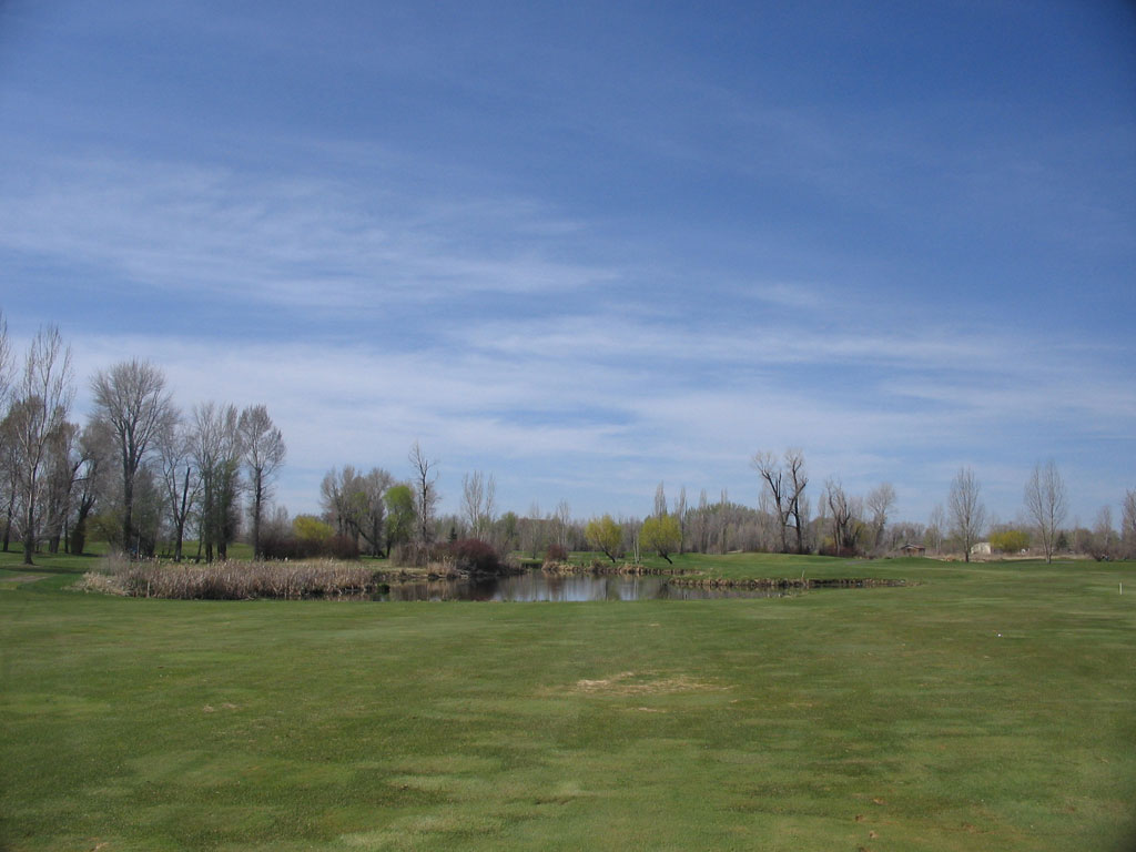 11th Hole at Teton Lakes Golf Course (416 Yard Par 4)