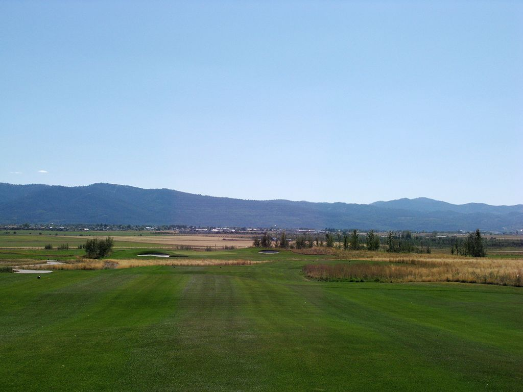 6th Hole at Teton Reserve (246 Yard Par 3)