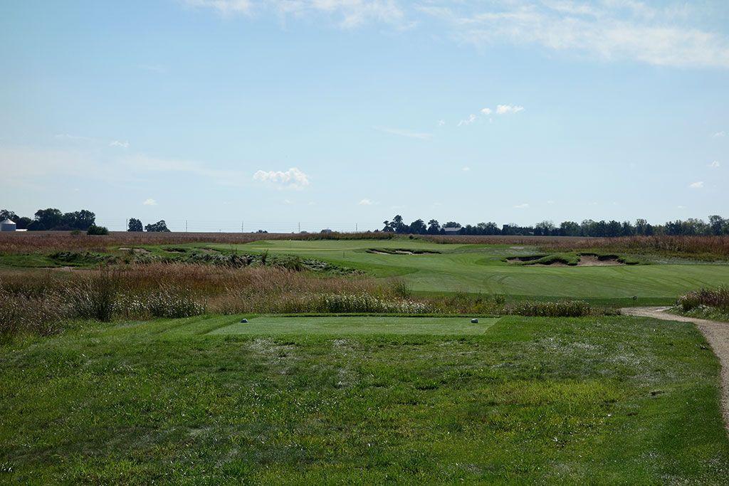 14th Hole at Black Sheep Golf Club (464 Yard Par 4)