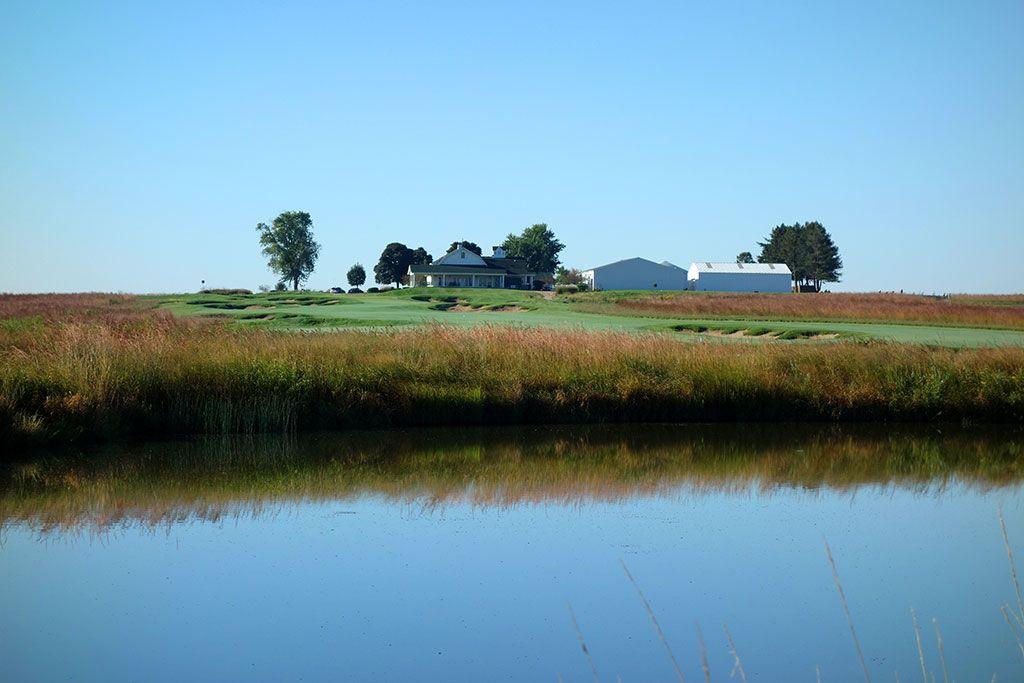 18th Hole at Black Sheep Golf Club (497 Yard Par 5)