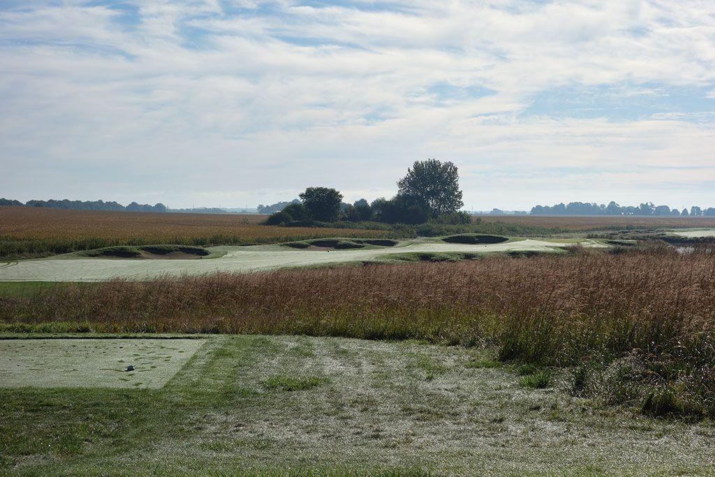 5th Hole at Black Sheep Golf Club (305 Yard Par 4)
