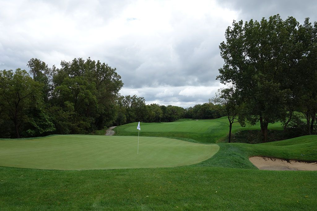 13th Hole at Cog Hill Golf and Country Club (Dubsdread) (480 Yard Par 4)