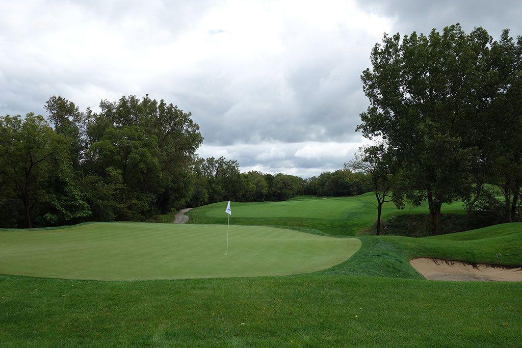 13th Hole at Cog Hill Golf and Country Club (Dubsdread) (480 Yard Par 4)