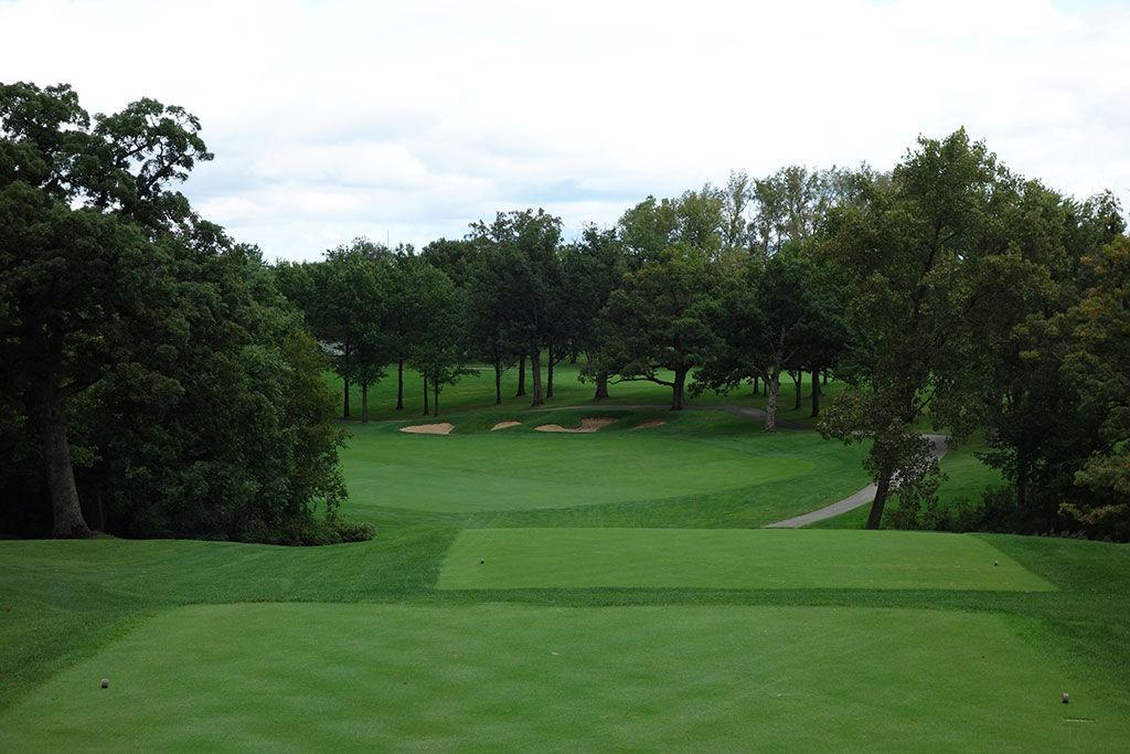 16th Hole at Cog Hill Golf and Country Club (Dubsdread) (456 Yard Par 4)