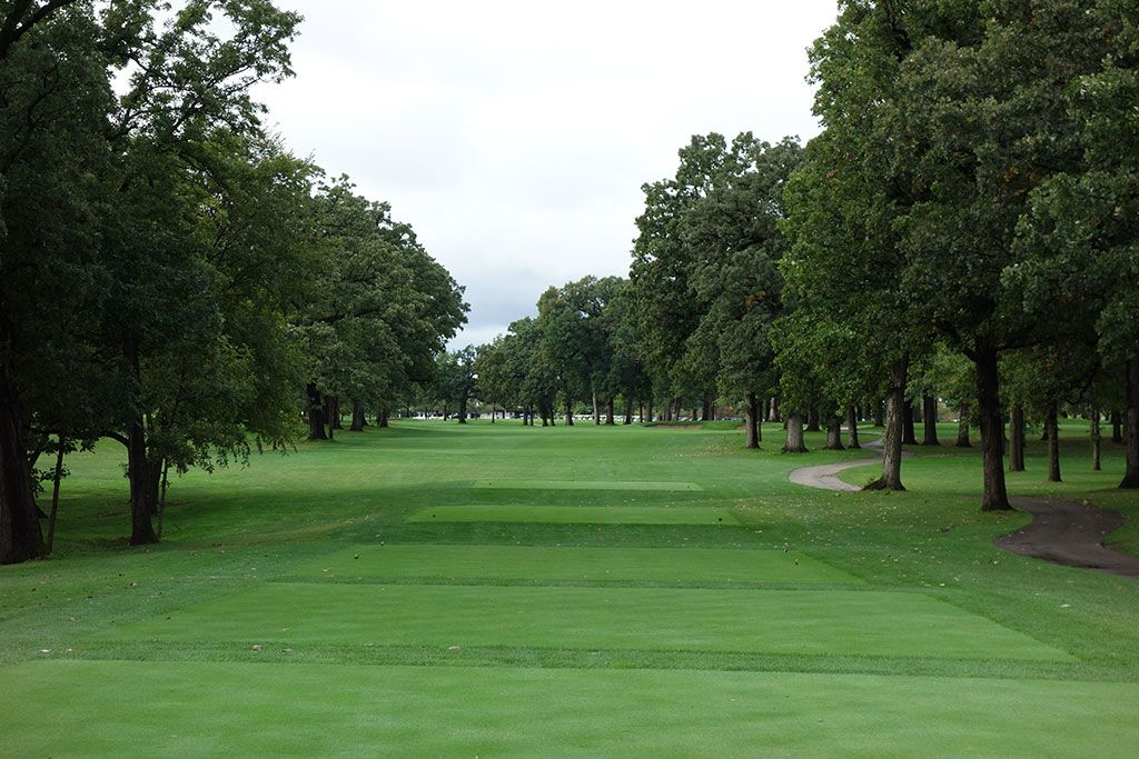 9th Hole at Cog Hill Golf and Country Club (Dubsdread) (613 Yard Par 5)