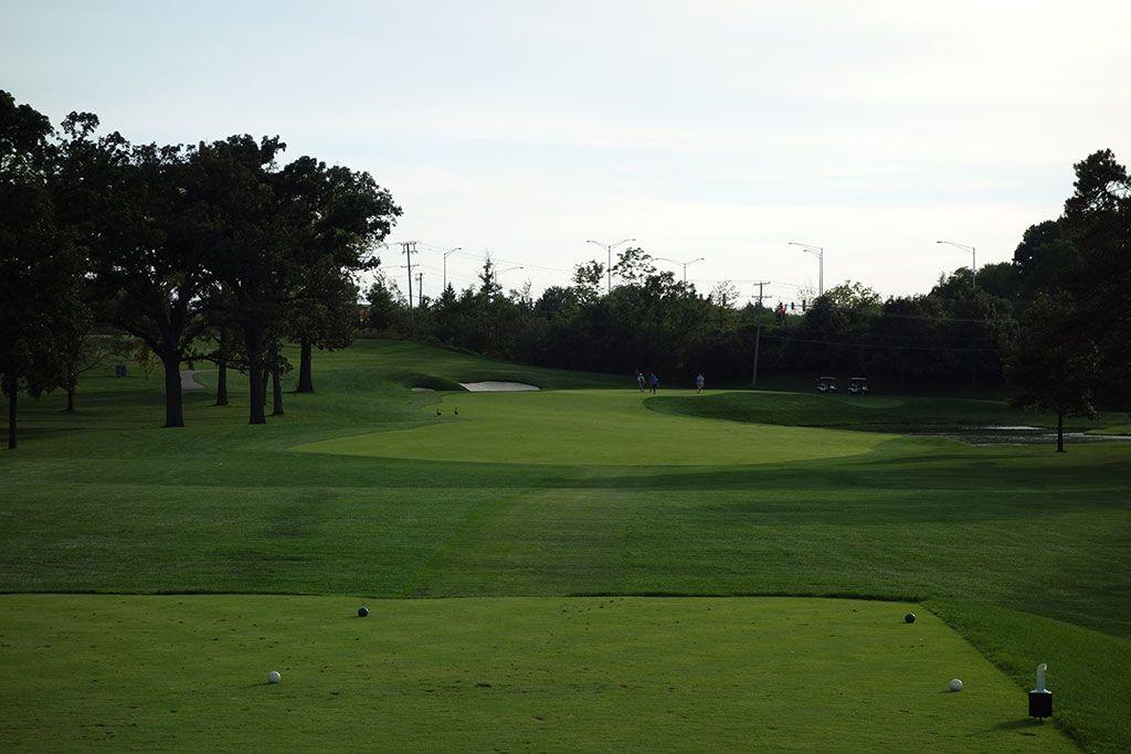 15th Hole at Medinah Country Club (No. 3) (390 Yard Par 4)