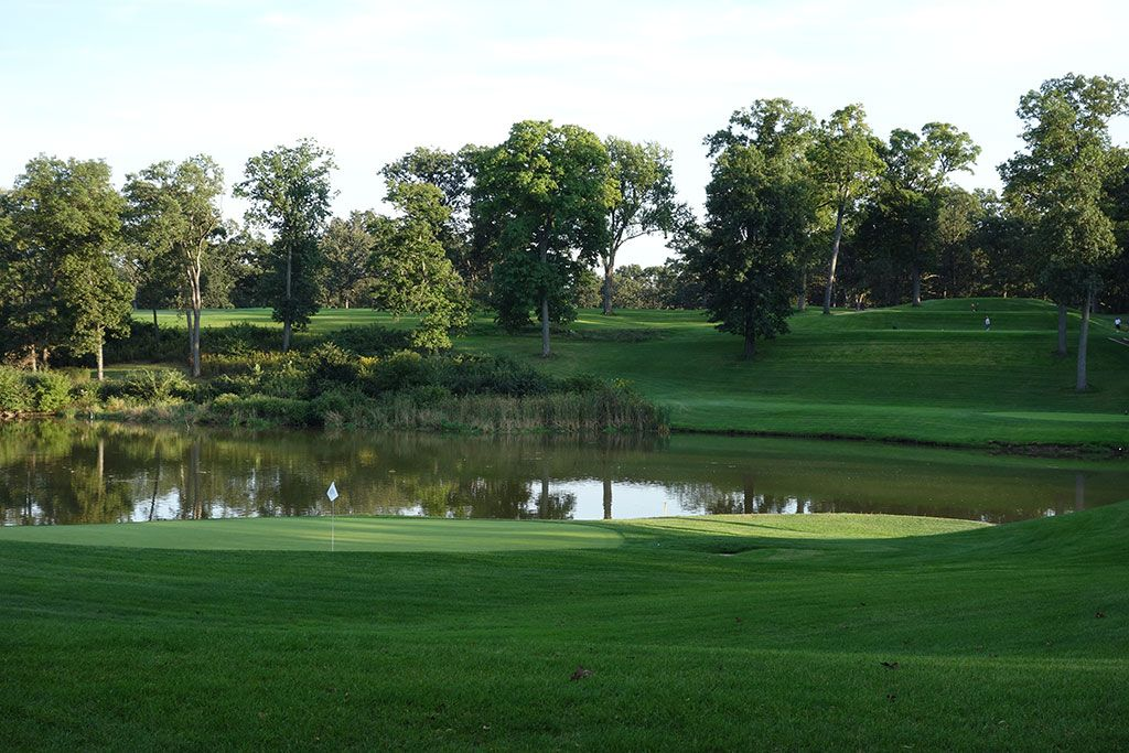17th Hole at Medinah Country Club (No. 3) (193 Yard Par 3)