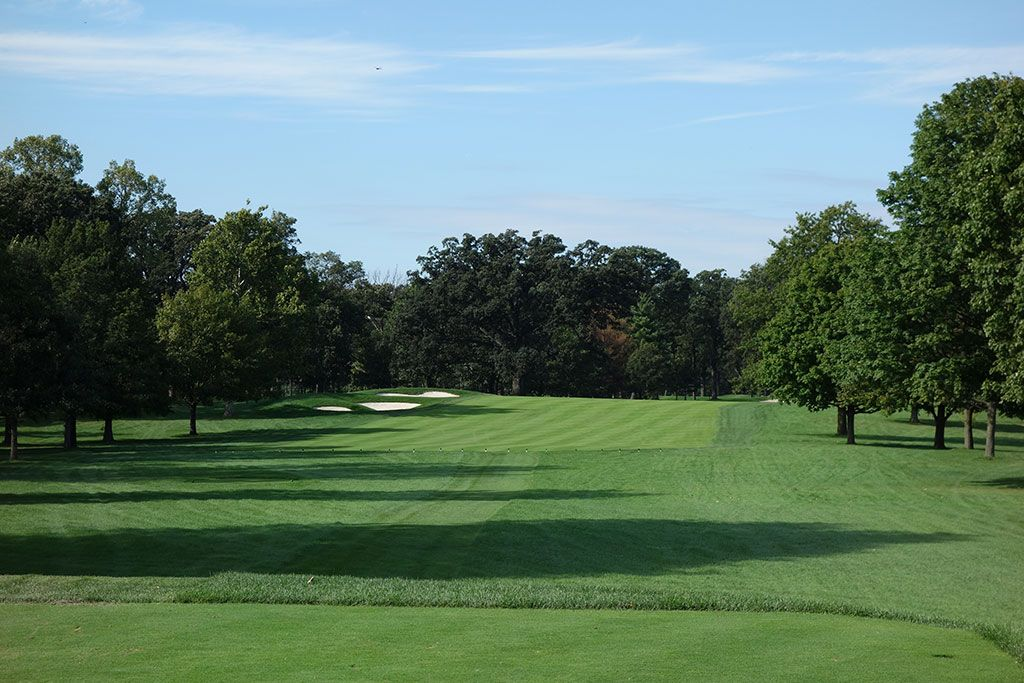 7th Hole at Medinah Country Club (No. 3) (617 Yard Par 5)