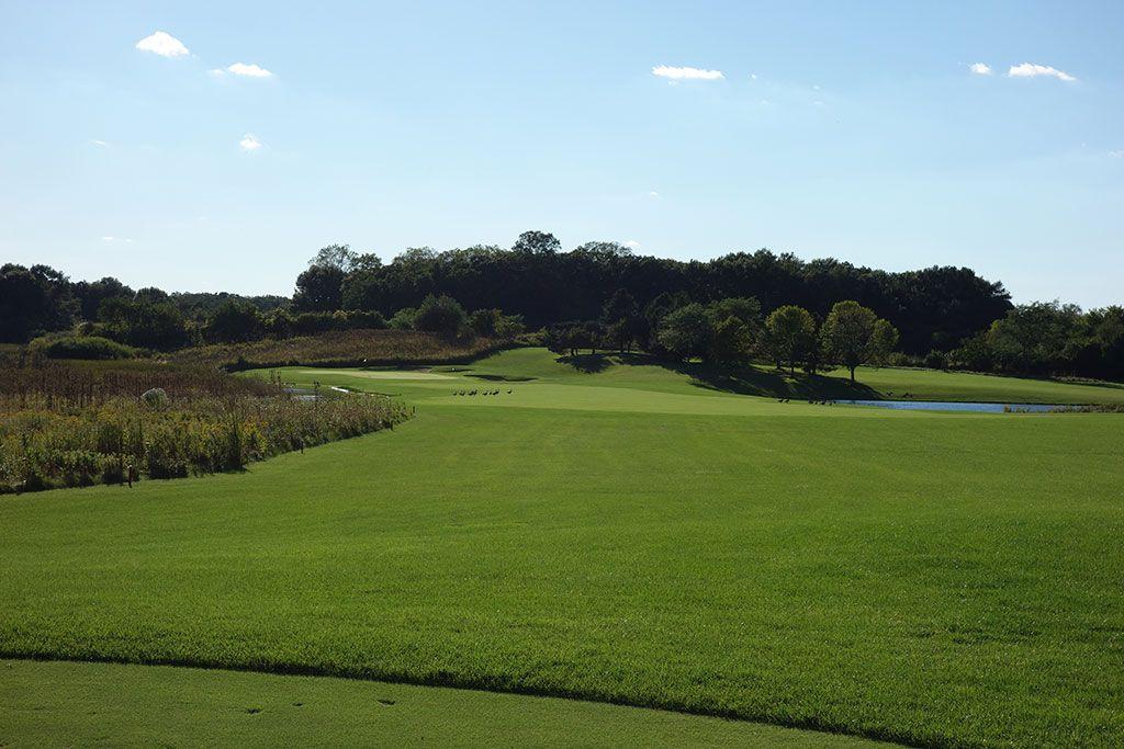 13th Hole at Merit Club (358 Yard Par 4)