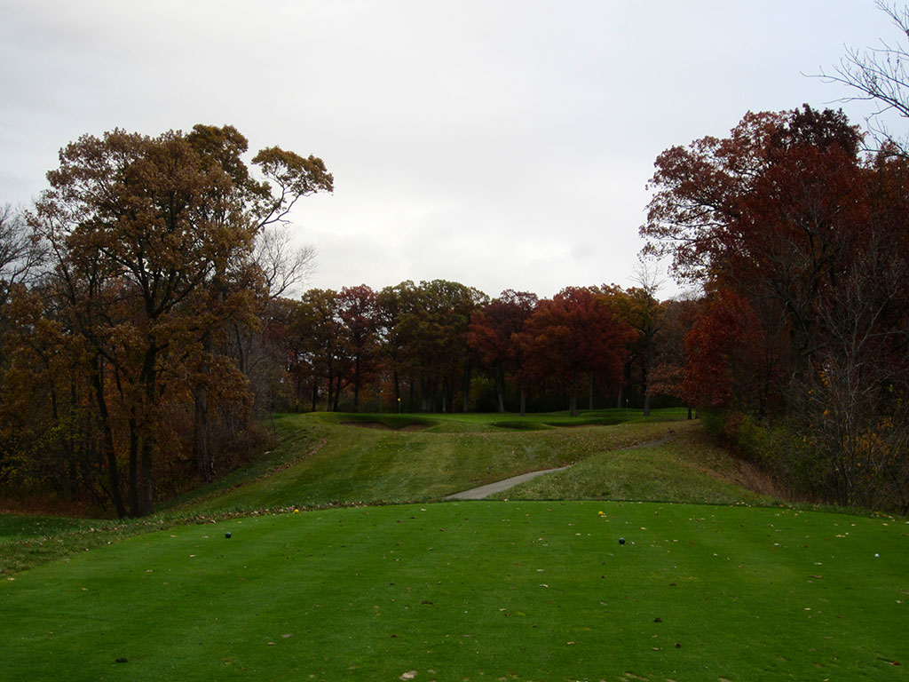 13th Hole at Olympia Fields (North) (168 Yard Par 3)