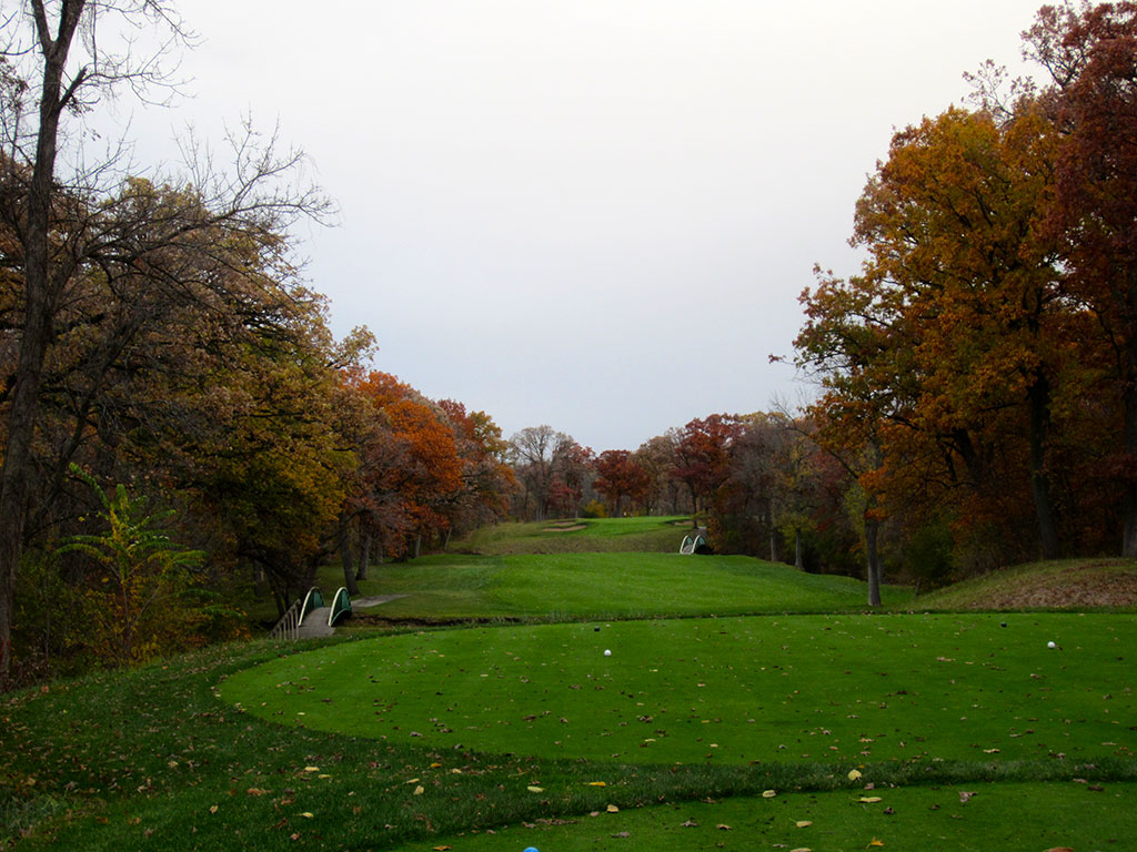 14th Hole at Olympia Fields Country Club (North) (444 Yard Par 4)