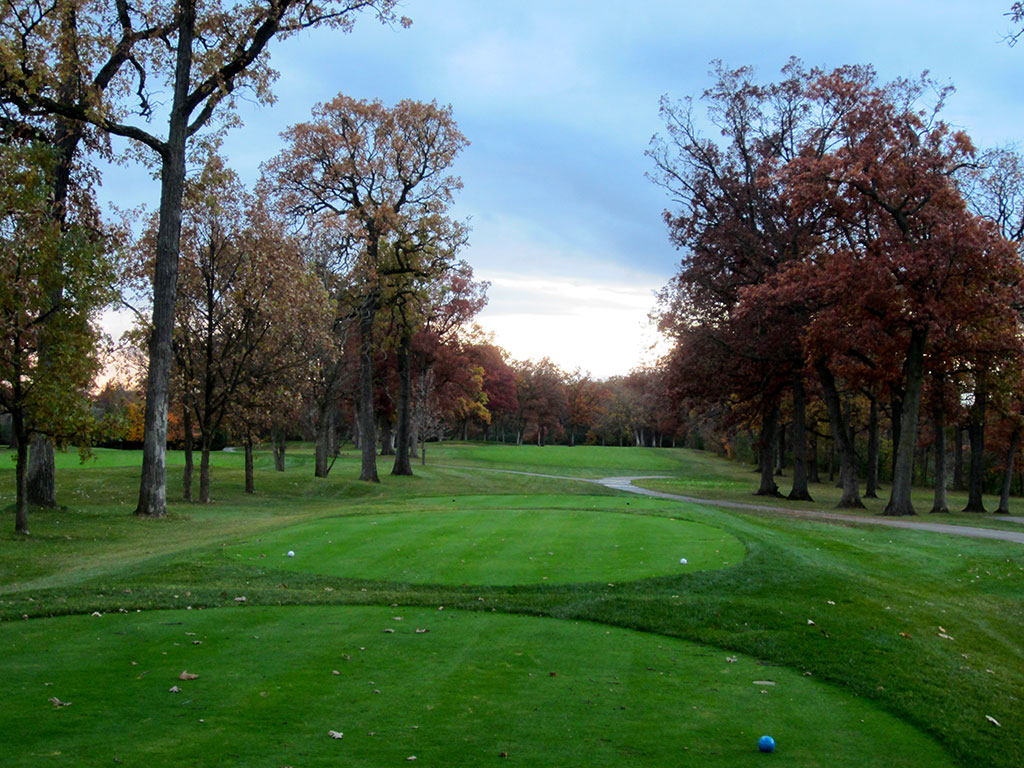 15th Hole at Olympia Fields Country Club (North) (576 Yard Par 5)
