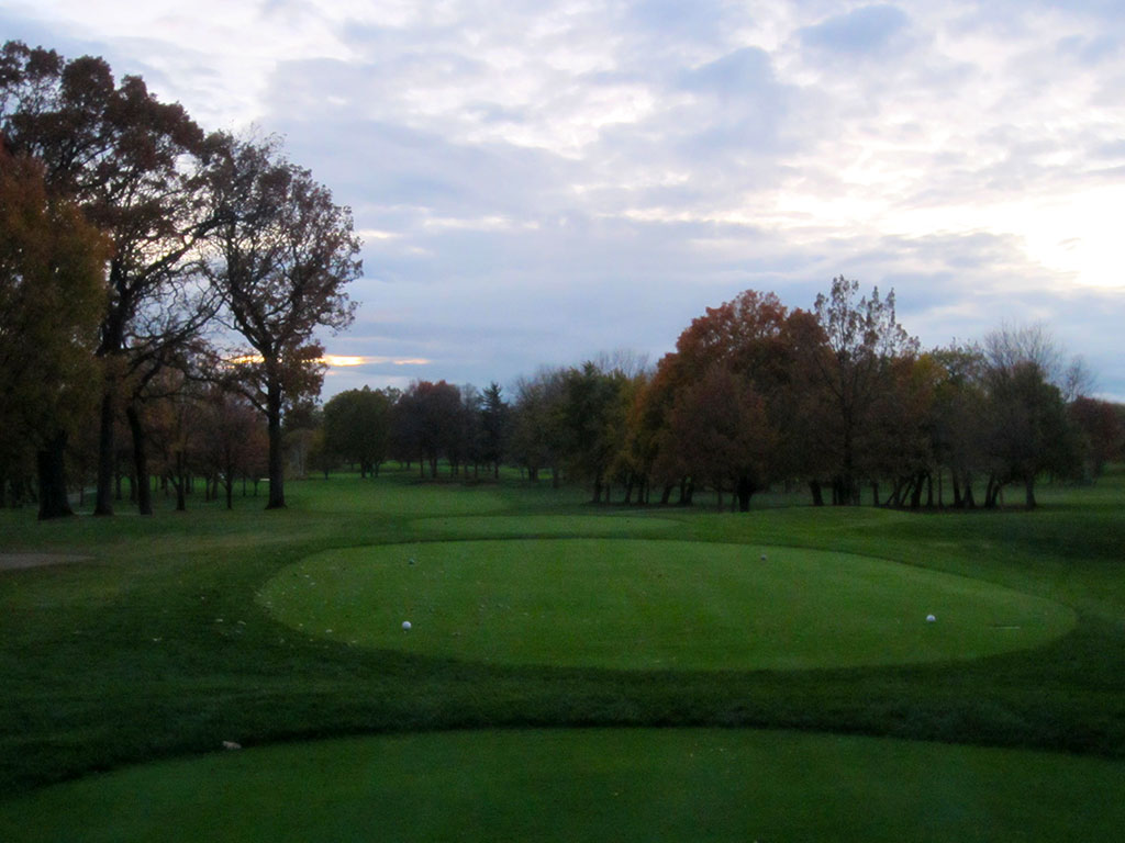 18th Hole at Olympia Fields Country Club (North) (496 Yard Par 4)