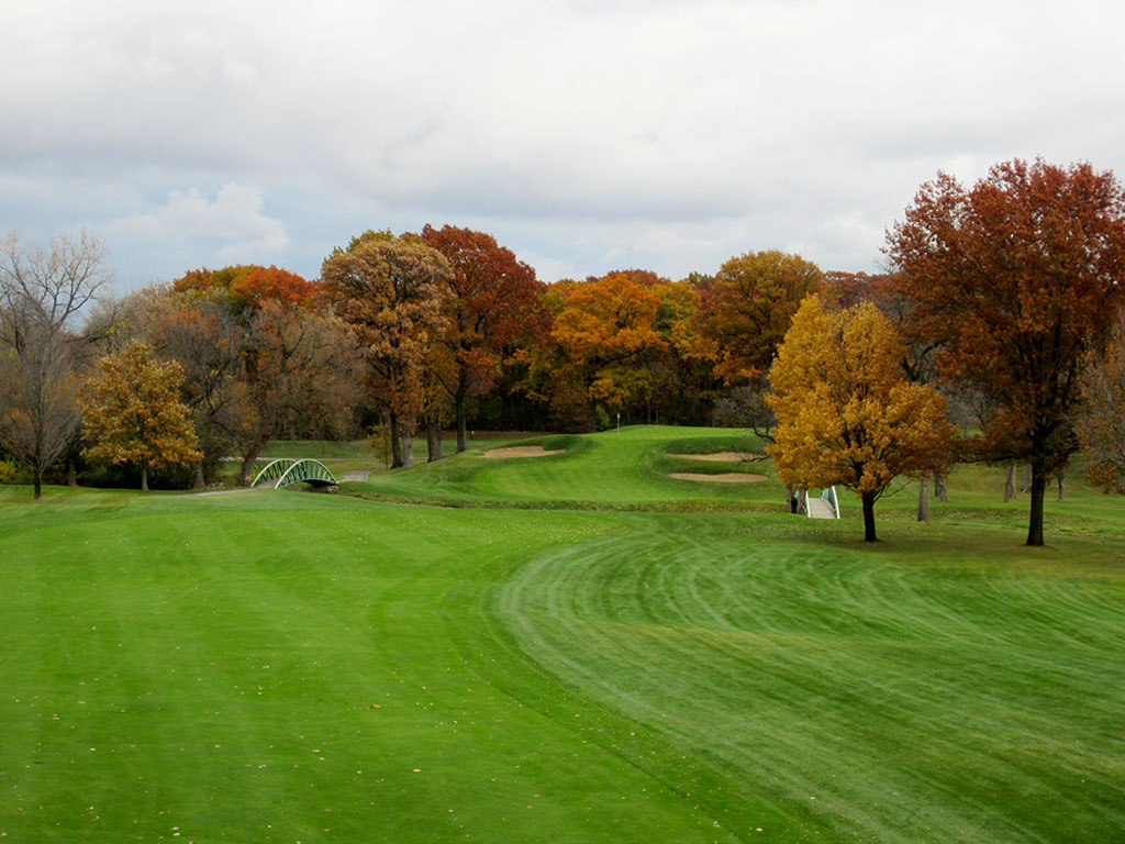 3rd Hole at Olympia Fields Country Club (North) (461 Yard Par 4)