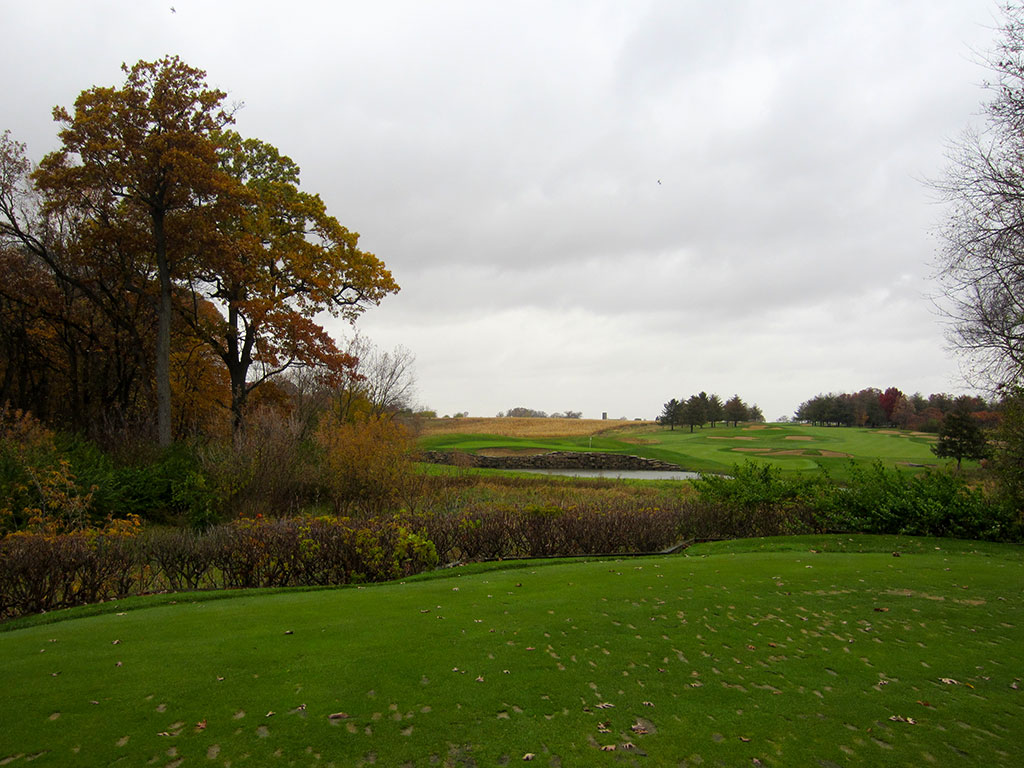 14th Hole at Rich Harvest Golf Links (191 Yard Par 3)
