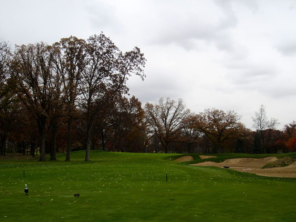 3rd Hole at Rich Harvest Golf Links ( Yard Par 4)