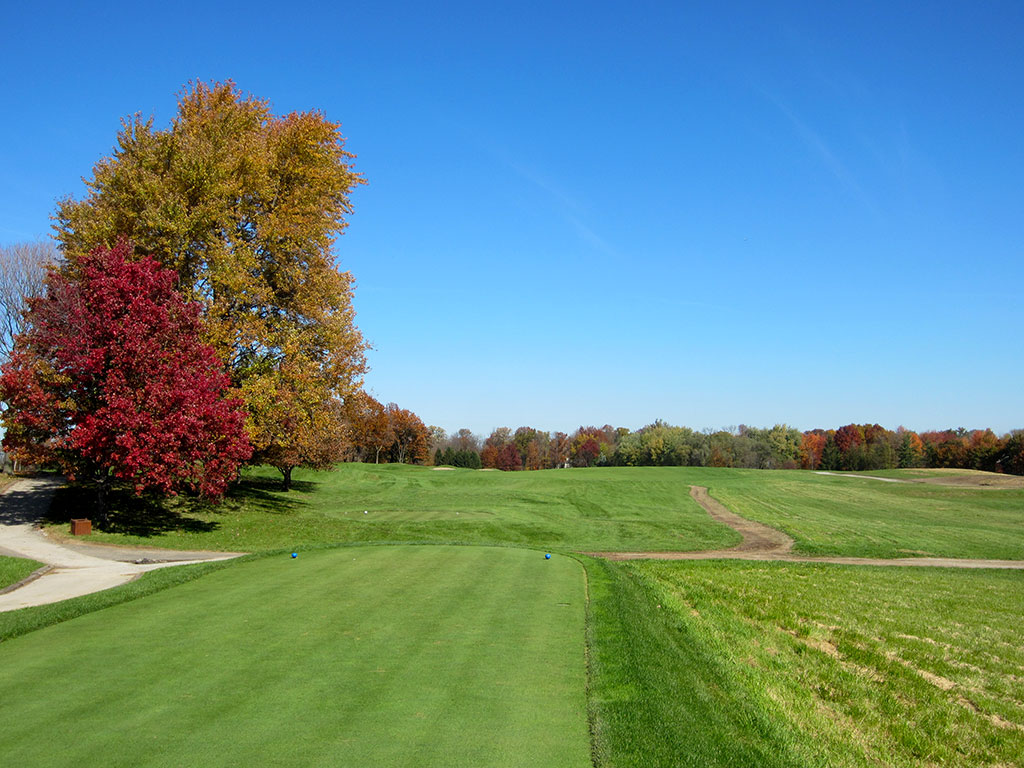 11th Hole at Crooked Stick Golf Club (538 Yard Par 5)
