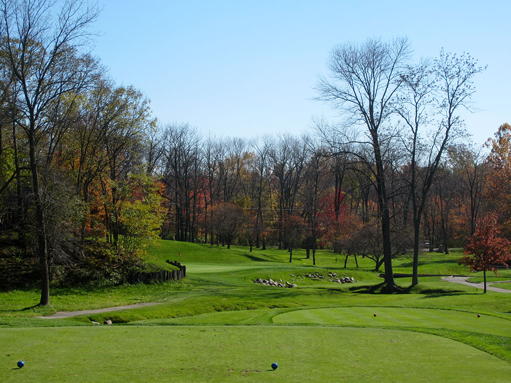 13th Hole at Crooked Stick Golf Club (166 Yard Par 3)