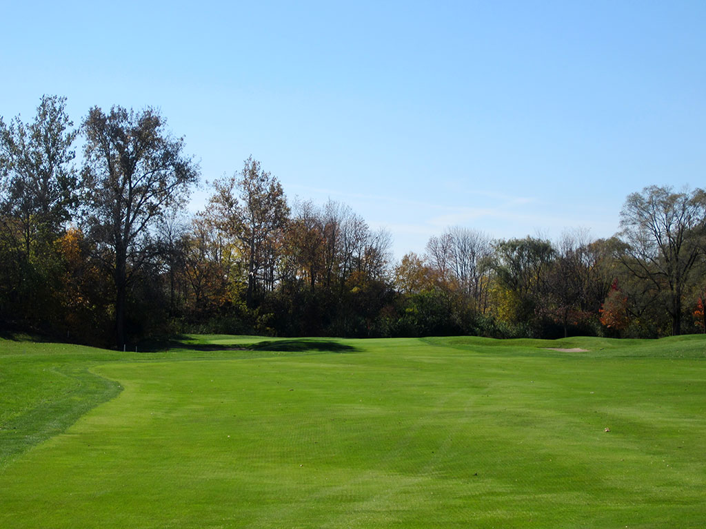 14th Hole at Crooked Stick Golf Club (462 Yard Par 4)
