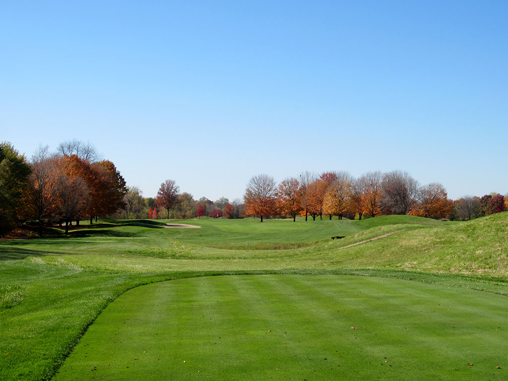 15th Hole at Crooked Stick Golf Club (510 Yard Par 5)