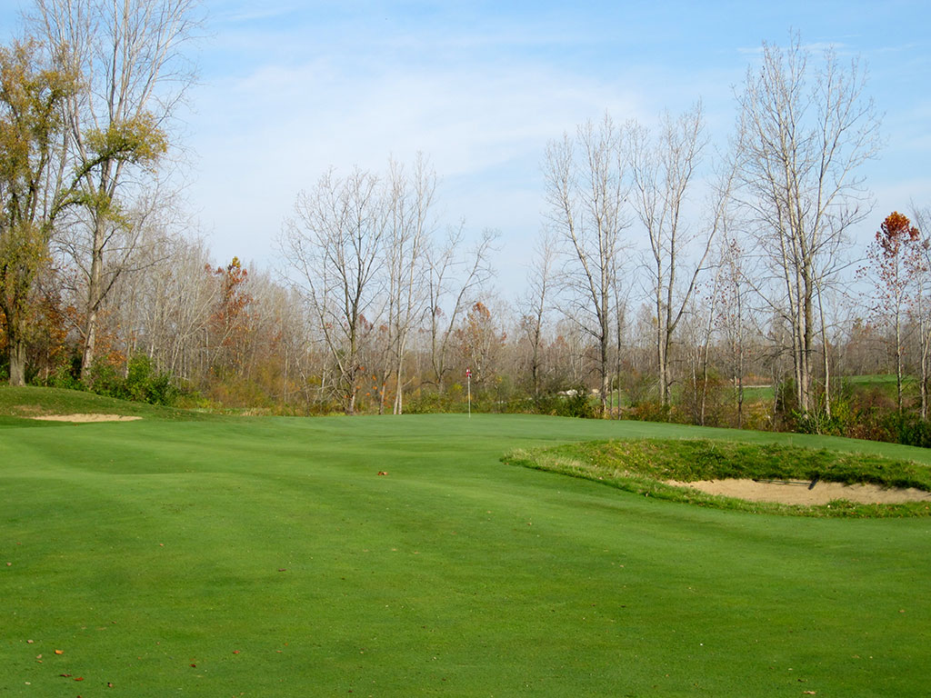 13th Hole at Rock Hollow Golf Course (332 Yard Par 4)