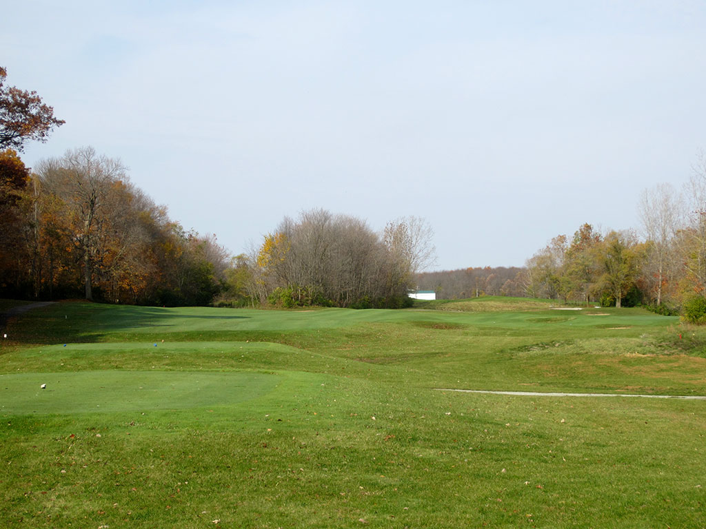 13th Hole at Rock Hollow (332 Yard Par 4)