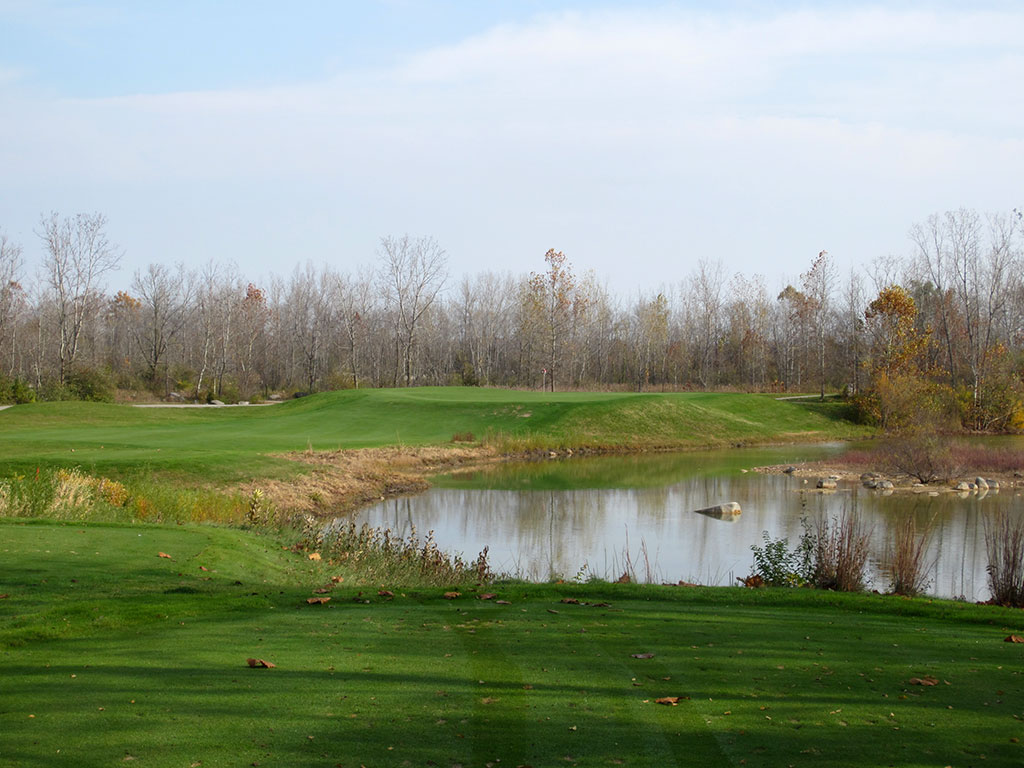 14th Hole at Rock Hollow Golf Course (228 Yard Par 3)