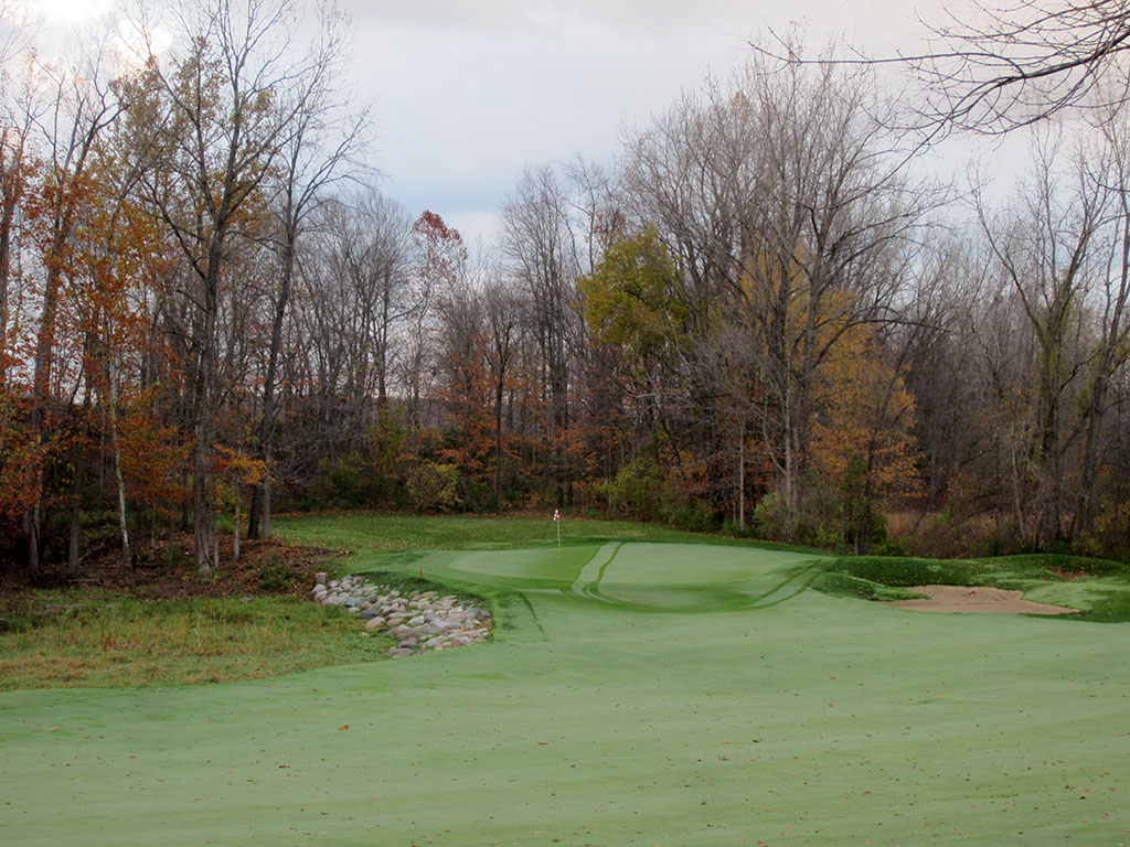 1st Hole at Rock Hollow (296 Yard Par 4)
