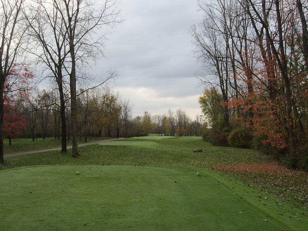 6th Hole at Rock Hollow Golf Course (601 Yard Par 5)