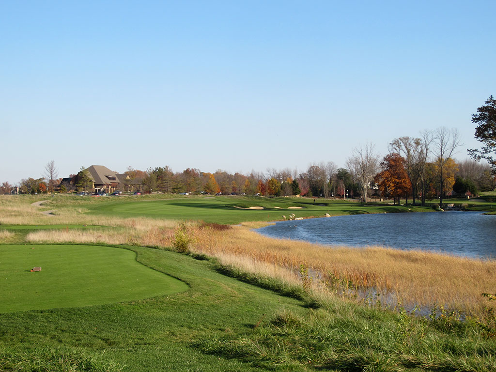 12th Hole at The Sagamore Club (371 Yard Par 4)