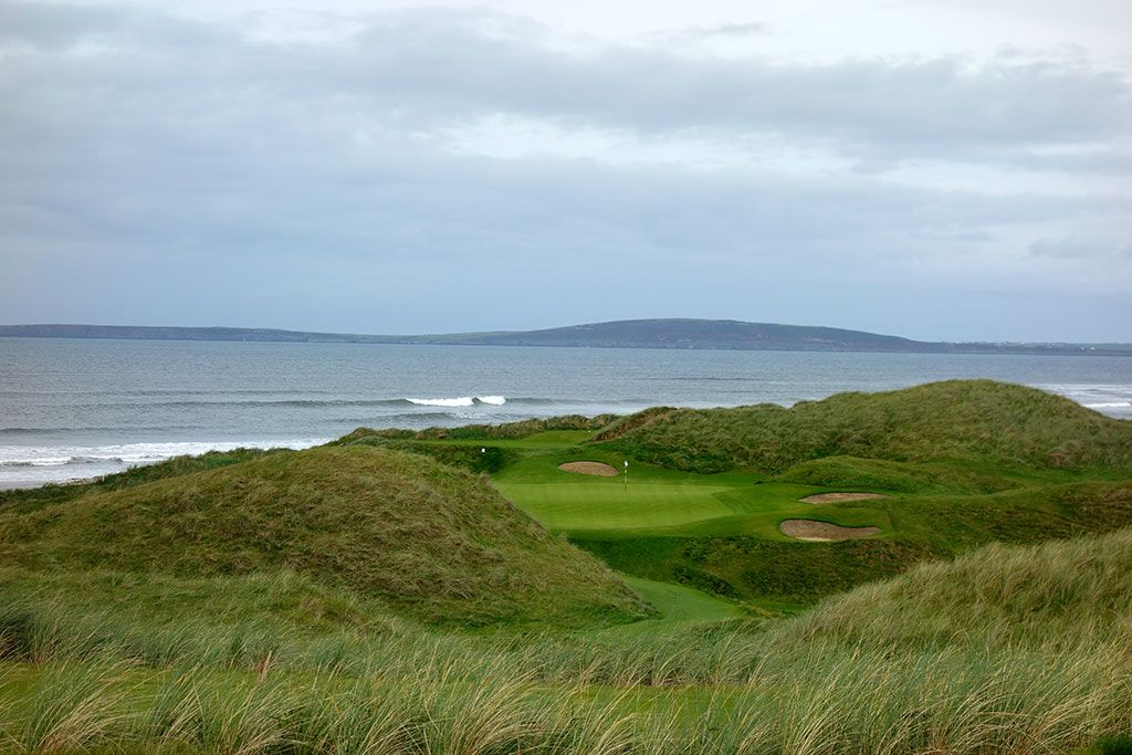 The views are inspiring at the 15th hole at Ballybunion