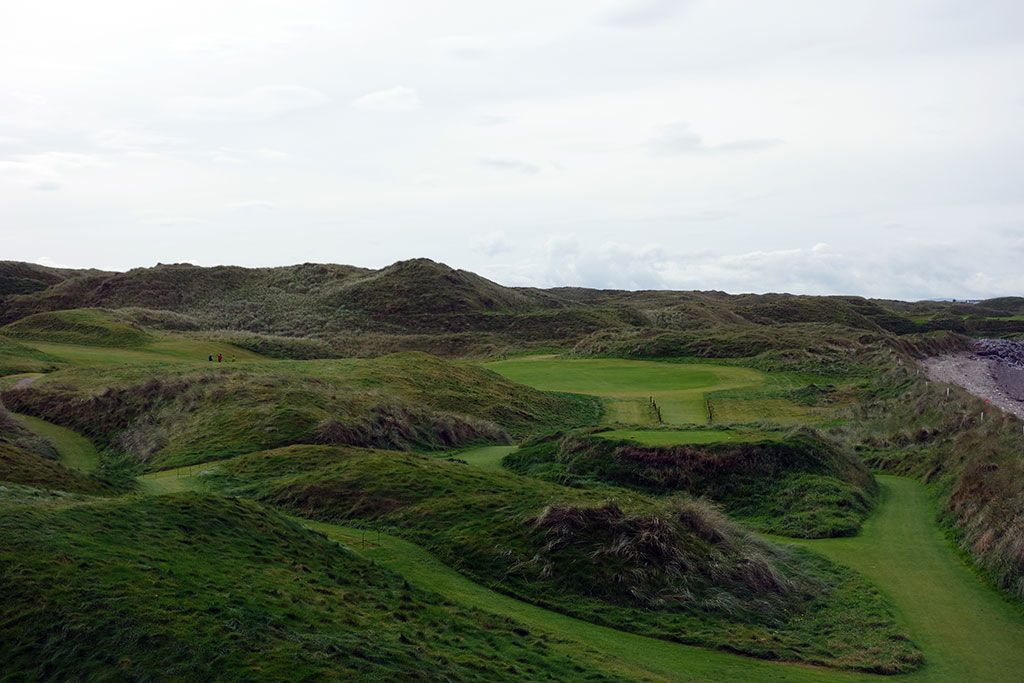 16th Hole at Ballybunion Golf Club (Old) (509 Yard Par 5)