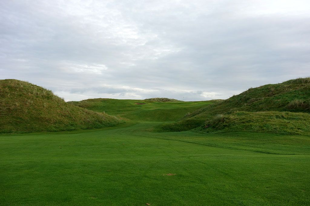 2nd Hole at Ballybunion Golf Club (Old) (445 Yard Par 4)