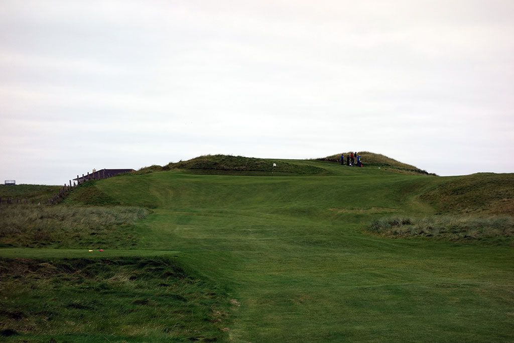 7th (Hackett) Hole at Carne Golf Links (Hackett 18 and Kilmore 9) (177 Yard Par 3)