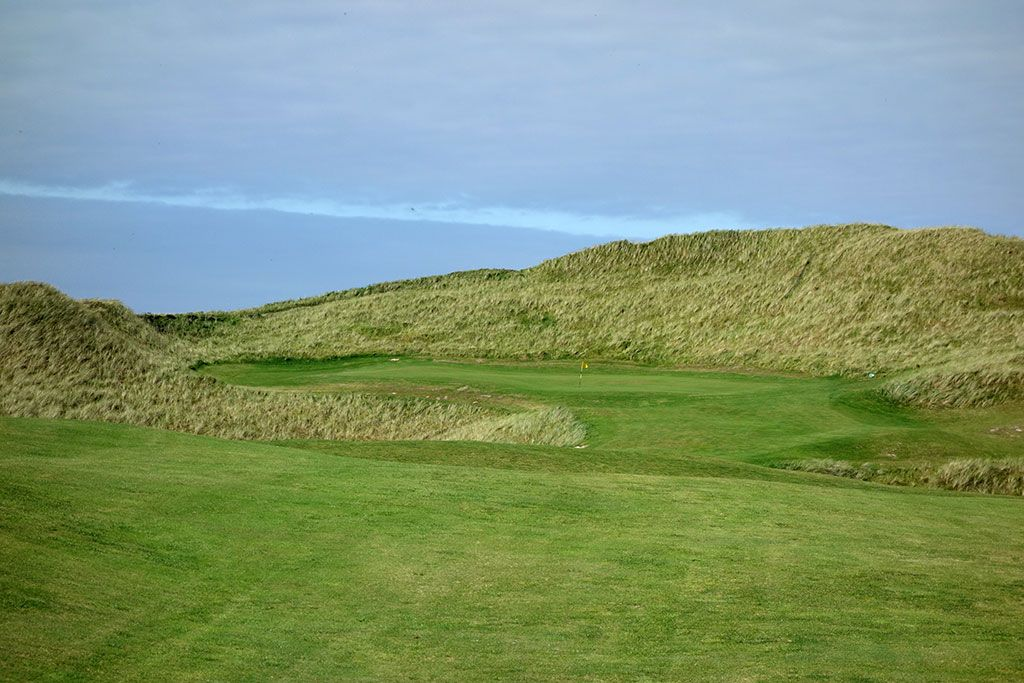 1st (Kilmore) Hole at Carne Golf Links (Hackett 18 and Kilmore 9) (561 Yard Par 5)
