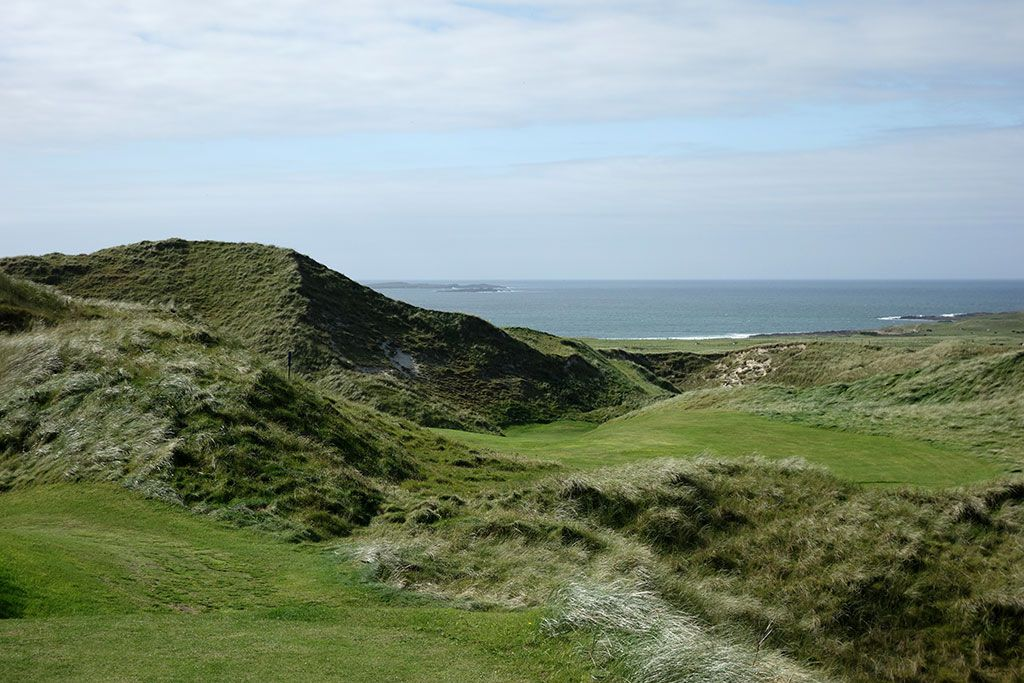 3rd (Kilmore) Hole at Carne Golf Links (Hackett 18 and Kilmore 9) (342 Yard Par 4)