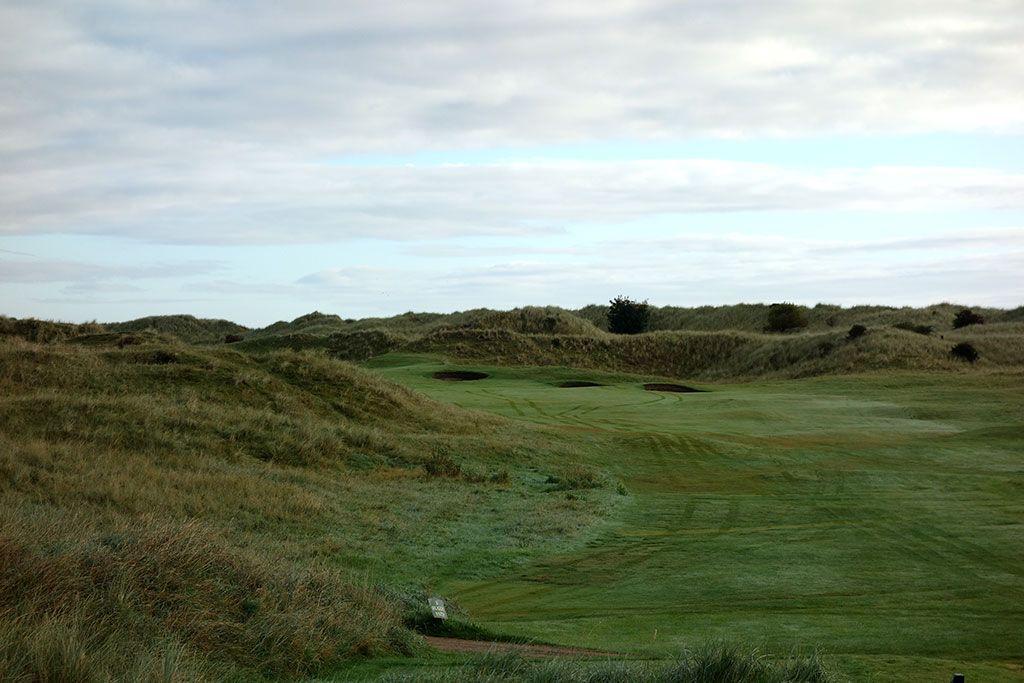 12th Hole at County Louth Golf Club aka Baltray (410 Yard Par 4)