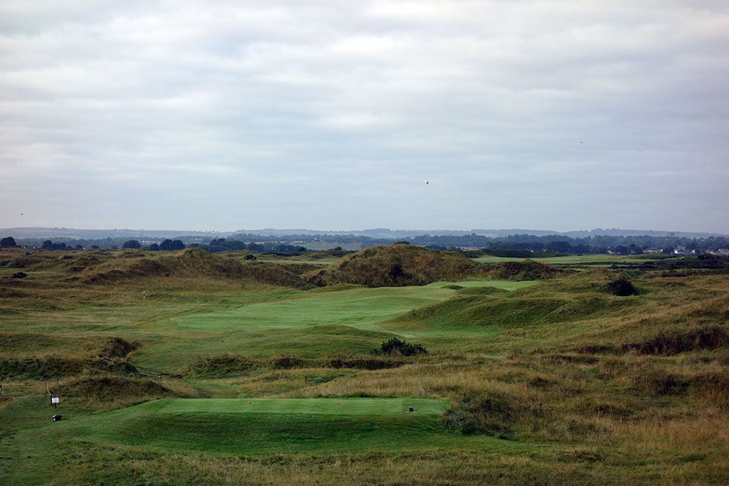14th Hole at County Louth Golf Club aka Baltray (332 Yard Par 4)