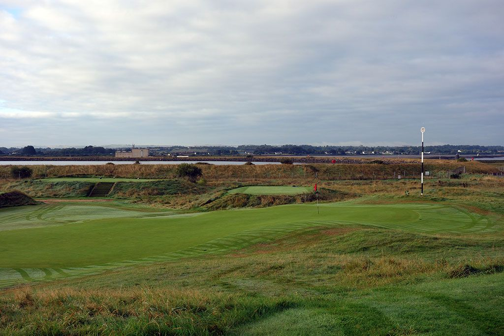 3rd Hole at County Louth Golf Club aka Baltray (544 Yard Par 5)