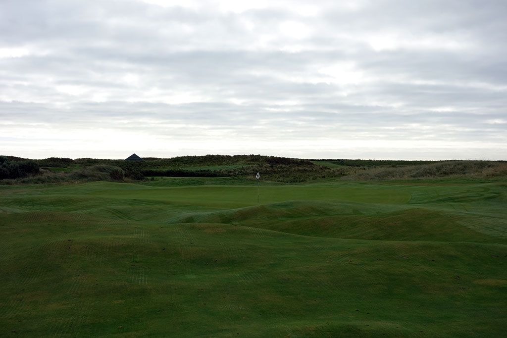 4th Hole at County Louth Golf Club aka Baltray (379 Yard Par 4)