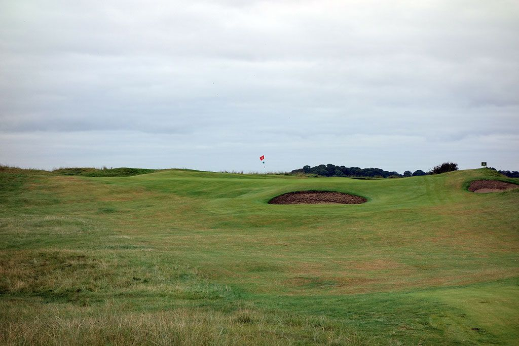 7th Hole at County Louth Golf Club aka Baltray (163 Yard Par 3)
