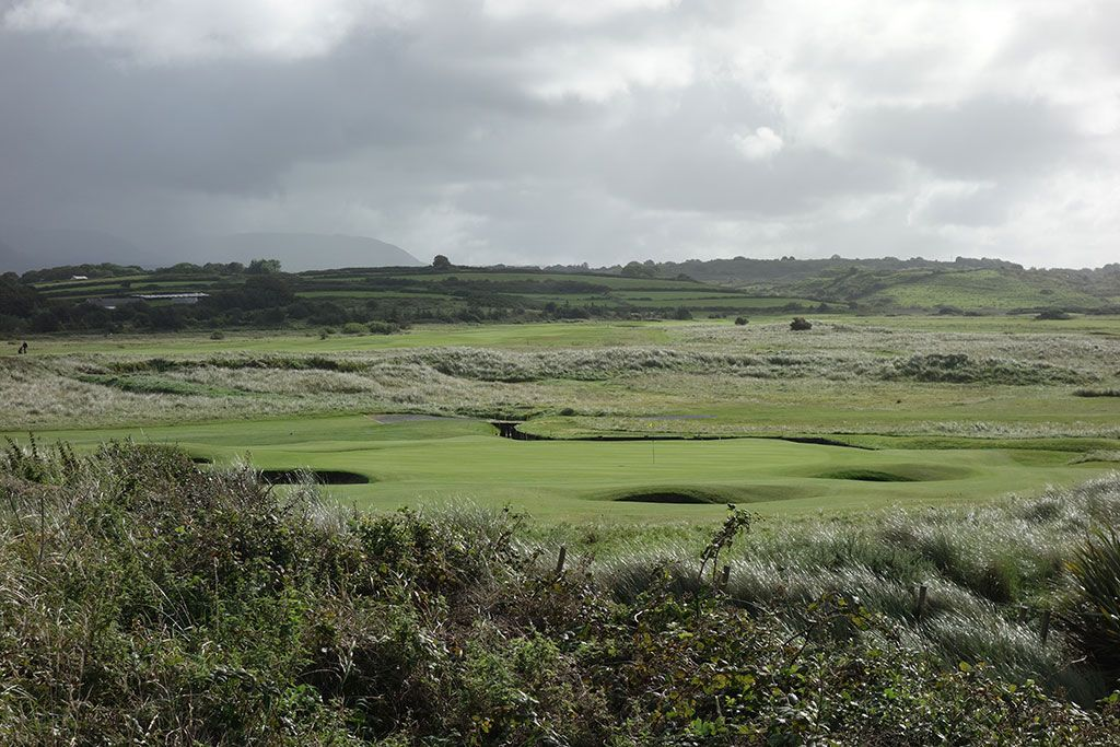 13th Hole at County Sligo at Rosses Point (177 Yard Par 3)