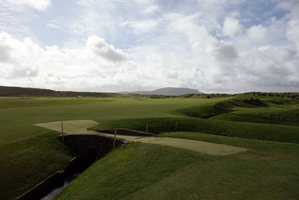 14th Hole at County Sligo Golf Club aka Rosses Point (457 Yard Par 4)
